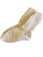 Носки вязаные из овечьей шерсти