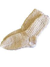 В'язані шкарпетки з овечої вовни