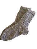 В'язані шкарпетки з овечої вовни, фото 3