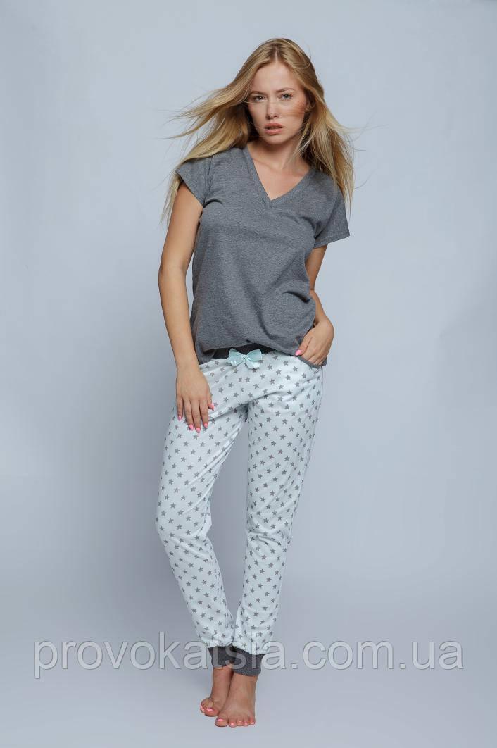 2e4f79920e51b Женская стильная пижама. Штаны, футболка Pizama Agnes Sensis - Интернет- магазин эротического и