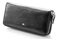Мужской кожаный клатч кошелек портмоне на две молнии ST натуральная кожа