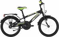 """Детский велосипед MBK COMANCHE 16"""", черно-зеленый"""
