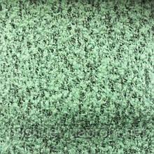 Ткань пальтовая буклированная меланжевая Салатовый