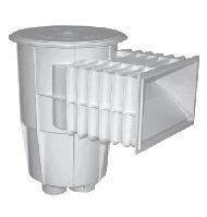 Скиммер для бассейна Aquant стандарт под бетон, фото 1