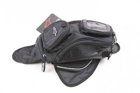 Мото сумка на бак Alpinestars магнитах (Honda, Suzuki, Dainese, Yamaha), фото 2