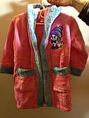 Банный халат детский (девочка 1-14 лет)
