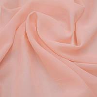 Однотонный шифон Светло-розовый