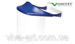 Щиток без запотівання із синім козирком №710, Univet (Італія)