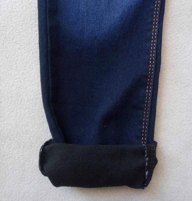 Утепленные детские джинсы Tati на флисе для мальчиков 5-8 лет Турция