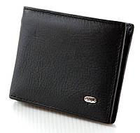 Мужской кожаный зажим портмоне ST на магните натуральная кожа