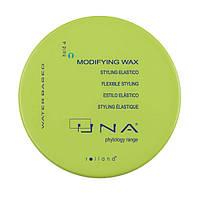 UNA Modifying Wax Моделирующий воск для волос гибкой средней фиксации,100 мл