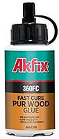 Полиуретановый (МОРСКОЙ) Akfix 360 FC D4 клей для дерева быстрой фиксации 150гр.