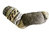 Носки вязаные из овечьей шерсти с узором, фото 4