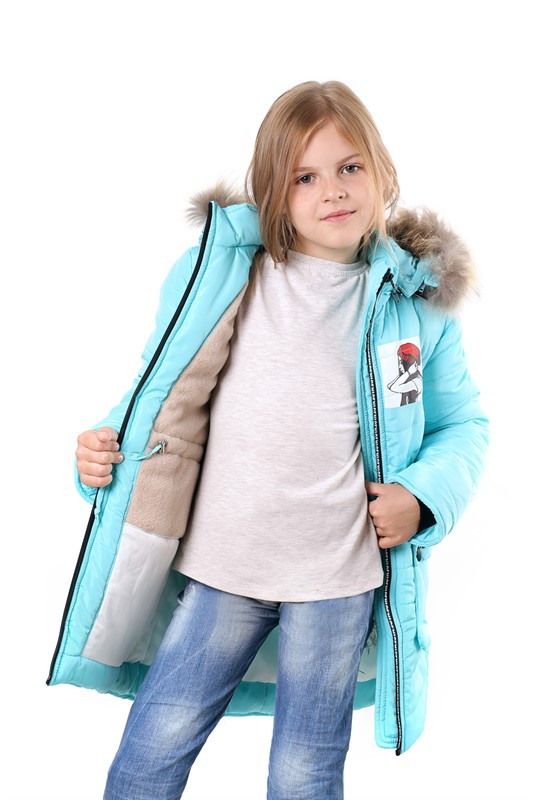 """Детская зимняя курточка для девочки """"Чика"""""""