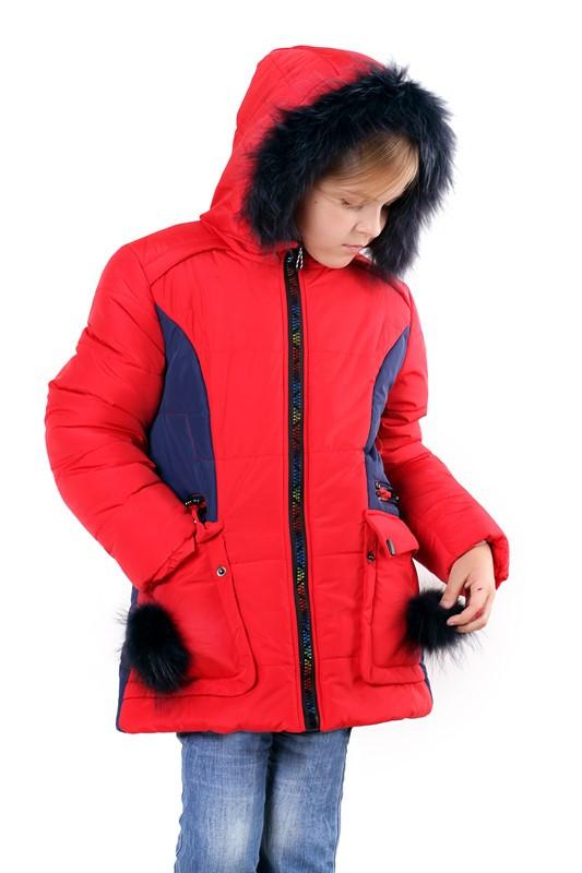 """Дитяча зимова курточка для дівчинки """"Ніка"""""""