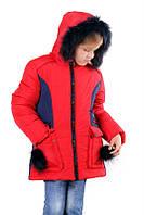 """Детская зимняя курточка для девочки """"Ника"""""""