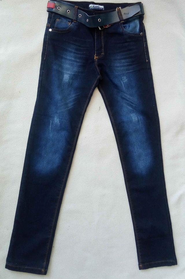 Утепленные детские джинсы Tati на флисе для мальчиков 9-12 лет Турция