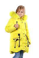 """Детская зимняя курточка для девочки """"Змейка"""""""