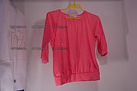 Футболка кофточка на девочку 10-12 лет тм H&M не яркий розовый бу
