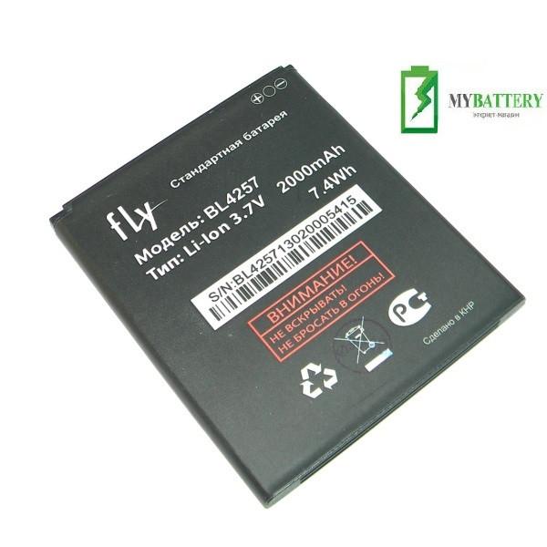 Оригинальный аккумулятор АКБ батарея Fly BL4257  IQ451