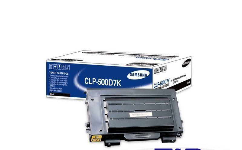 Заправка Samsung CLP500D7K