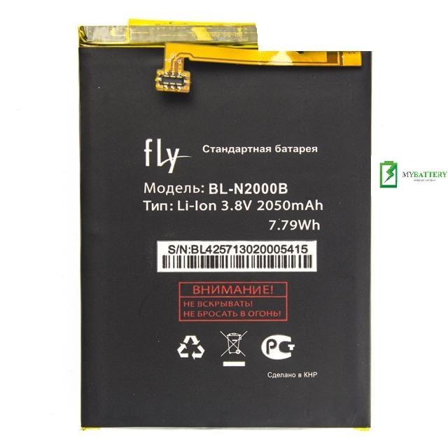 Оригинальный аккумулятор АКБ батарея Fly BL-N2000B IQ4516