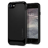Чехол Spigen для iPhone 8 / 7 Neo Hybrid Herringbone,Shiny Black, фото 1