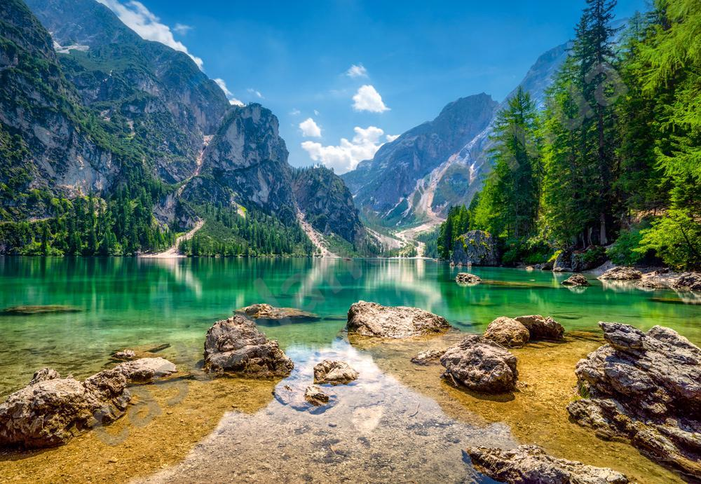 Пазлы Castorland С-103416, Озеро в горах, 1000 элементов