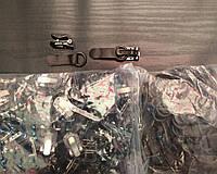 """Крючек шубный """"NOBLE"""", цвет коричневый 100шт в упаковке (пр-во Белоруссия)"""