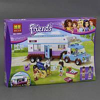 """Конструктор """"Friends"""" """"Ветеринарная машина для лошадок"""" 10561"""
