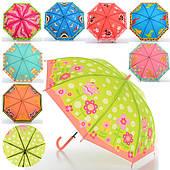 Детский зонтик длина 52,5/67 см, диаметр 81 см, спица 49 см
