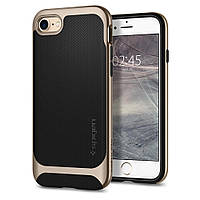 Чехол Spigen для iPhone SE 2020/8/7 Neo Hybrid Herringbone, Champagne Gold (054CS22201), фото 1