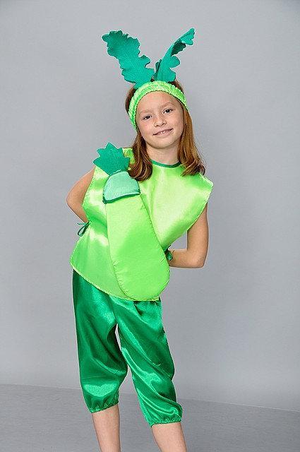 Яркий карнавальный костюм Кабачок