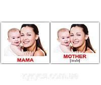 Комплект карточек «Семья/Family» МИНИ 40, фото 1