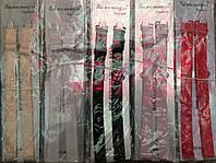 Бретели с рисунком, в упаковке 5 цветов по 10шт, ширина 15мм (50шт в упаковке)