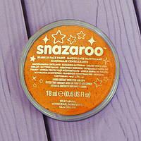 Аквагрим для лица и тела Snazaroo, перламутровый оранжевый, 18мл
