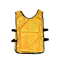 Манишка футбольная FINAL SHIRT желтая