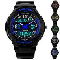 Часы наручные спортивные мужские водонепроницаемые часы