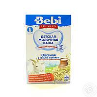 Детская молочная каша Bebi Premium Овсяная с козьим молоком