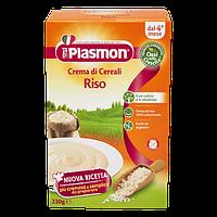 Рис крем Plasmon для малышей от 4-х месяцев, лучшее детское питание