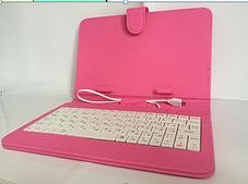"Чехол с клавиатурой Keyboard 7"" Pink (Арт. Pin7)"