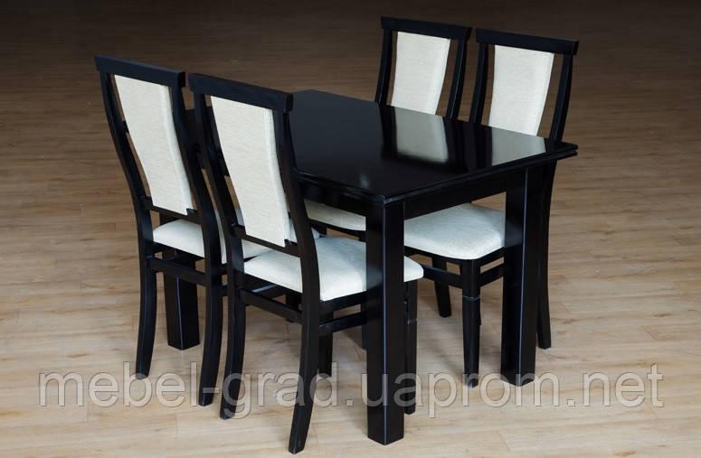 Стол обеденный раскладной (венге) Петрос