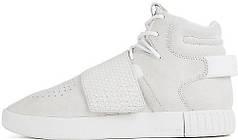 Женские кроссовки Adidas Tubular Invader Strap White