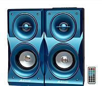 Стационарная акустическая система Ailiang USB FM-E013/2.0 код 1278