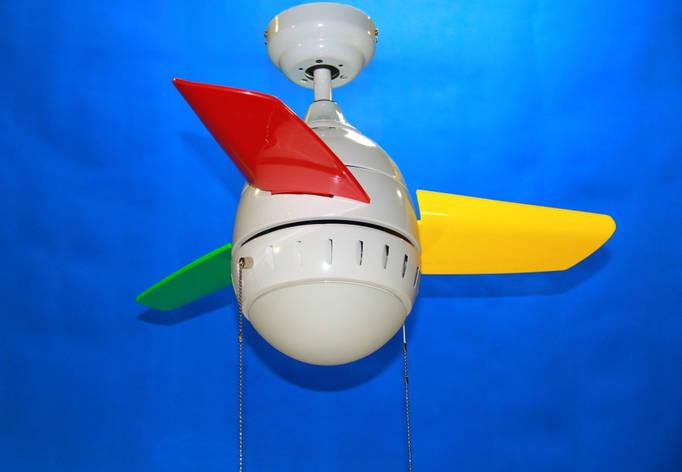 Люстра вентилятор  LF0118A-14(WT), фото 2