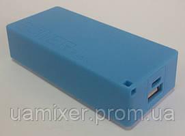Пластиковый PowerBank на 2 аккумулятора 18650 (прямоугольный)