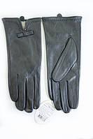 Женские перчатки с декоративным бантиком