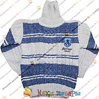 Вязанный свитер Двойная вязка для мальчика Размер: 5 лет (3804-2)
