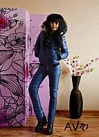 Женский лыжный костюм КМ070