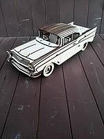 Модель Chevrolet Bel air 1957 из фанеры